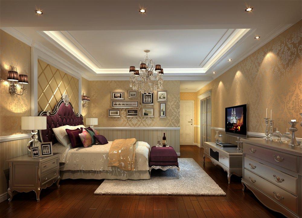 卧室图片来自宏誉装饰-Paul在龙城一号 新古典的分享