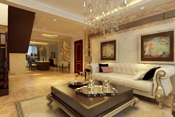 碧桂园天墅150平欧式风格