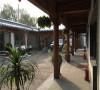 中式办公四合院设计装修施工