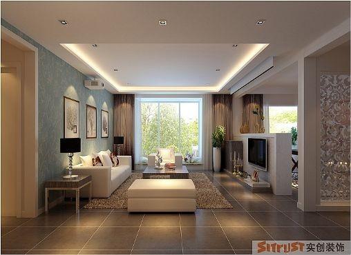 客厅的简约,矩形的直线从地面一直延伸到顶面,每一丝线条都被精心处理,飘窗的设计更是让空间增加了舒适性,好像客厅可以延伸到树的怀抱里,让大自然的气息溢过来,让家的节奏慢起来。
