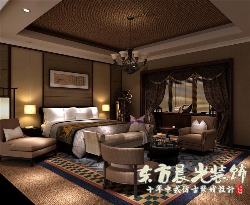 四合院 别墅 中式 设计 室内 客厅 卧室 餐厅 古典 客厅图片来自北京东方晨光装饰公司在北京中式四合院装修设计的分享