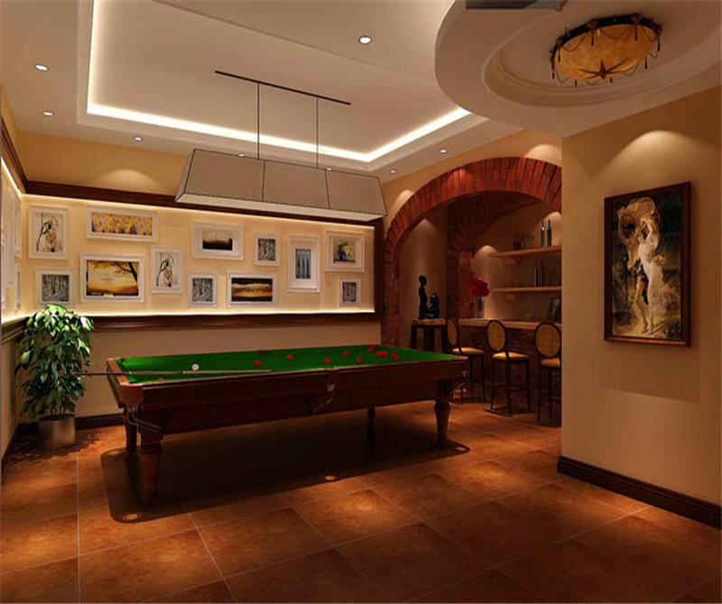 叠拼 别墅 二层带地下 其他图片来自高度国际装饰宋增会在金隅翡丽230平米美式古典的分享