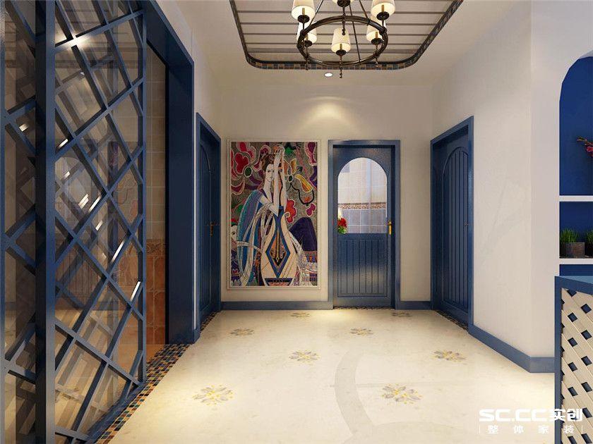 地中海风格 两居 嘉怡水岸 其他图片来自实创装饰上海公司在97平地中海风格装修设计的分享