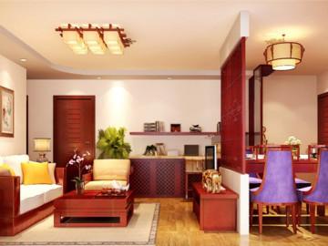 保利西山林语80平二居中式风格