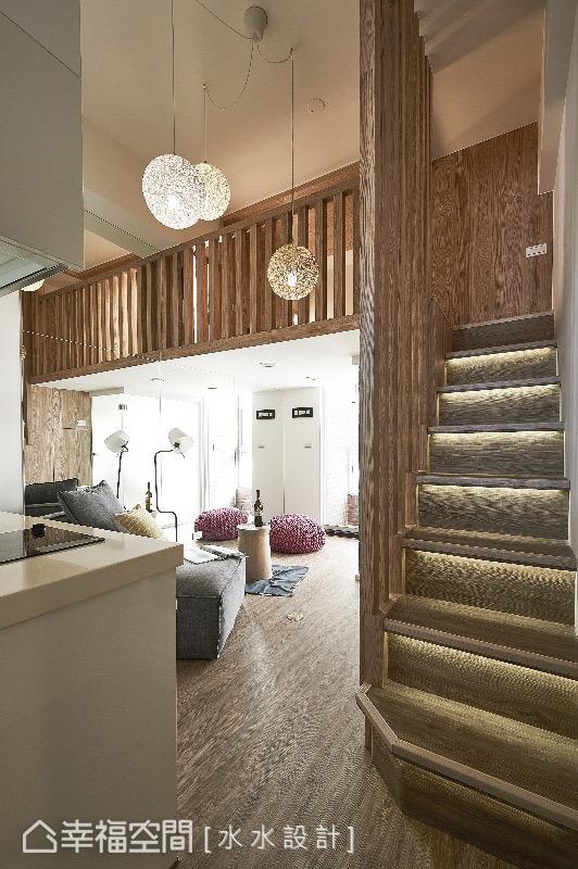 一居 复式 禅风 小户型 收纳 简约 客厅图片来自幸福空间在17平打造日系暖暖微型公寓的分享
