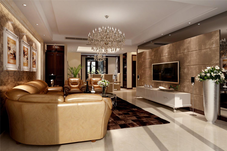 尚海湾 装修设计 现代风格 腾龙设计 林财表作品 客厅图片来自腾龙设计在尚海湾四房装修现代风格设计的分享