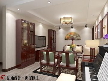 《似水流年》北京110平简约中式