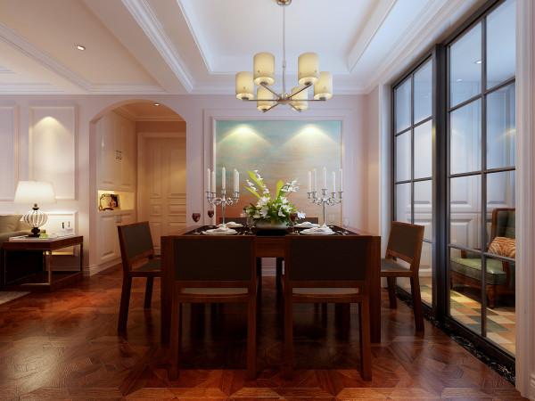 繁忙的现代生活,一家人能完完整整的聚在一起交流或许只有晚餐的时间吧!那么对于一个家而言, 餐厅的设计也就显得尤为重要的是温馨、时尚,大气!