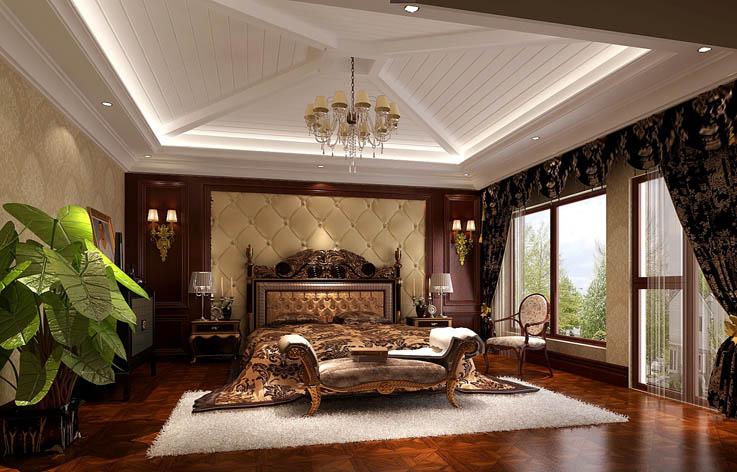 欧式 别墅 客厅 卧室 餐厅 小资图片来自北京高度国际---小吴在欧式别墅装饰的分享