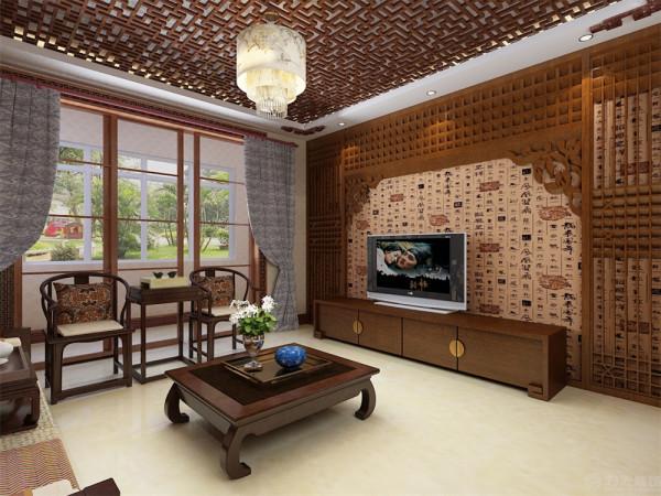 """""""家""""心灵的港湾,本案设计定位为新中式风格,"""