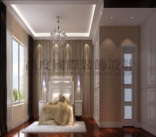 四居 港式 平层 卧室图片来自高度国际装饰宋增会在西山壹号院360平米港式的分享