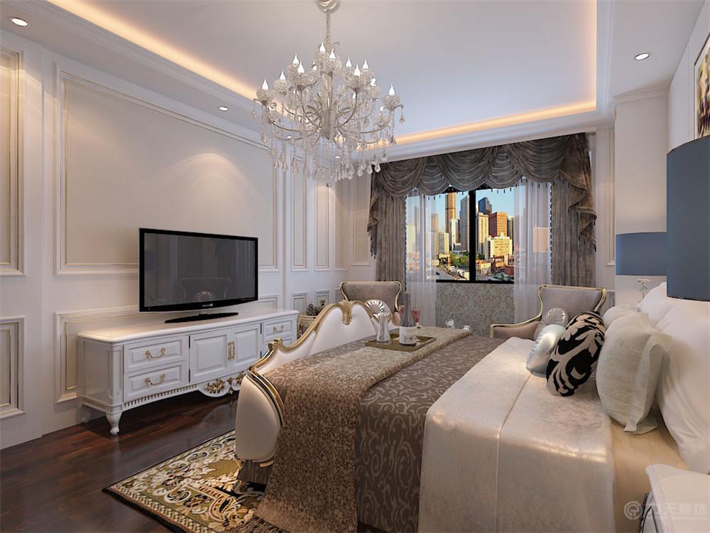 卧室图片来自阳光力天装饰糖宝儿在欧式风格   中浩智城 110㎡ 三居的分享