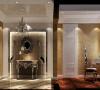 华丽高端的过厅给你美不胜收的视觉盛宴