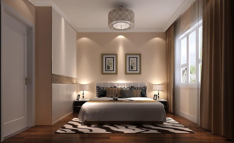 北欧极简 公寓 四居 卧室图片来自高度国际装饰宋增会在8哩岛165平米北欧极简风格的分享