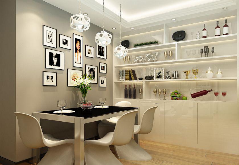 简约 欧式 二居 白领 收纳 80后 小资 餐厅图片来自实创装饰百灵在欧式典雅 160㎡装修设计的分享