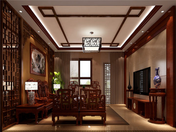 鲁能7号院打造古朴典雅新中式