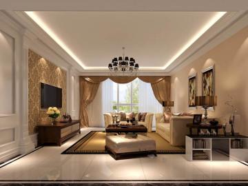 简欧风格--公寓