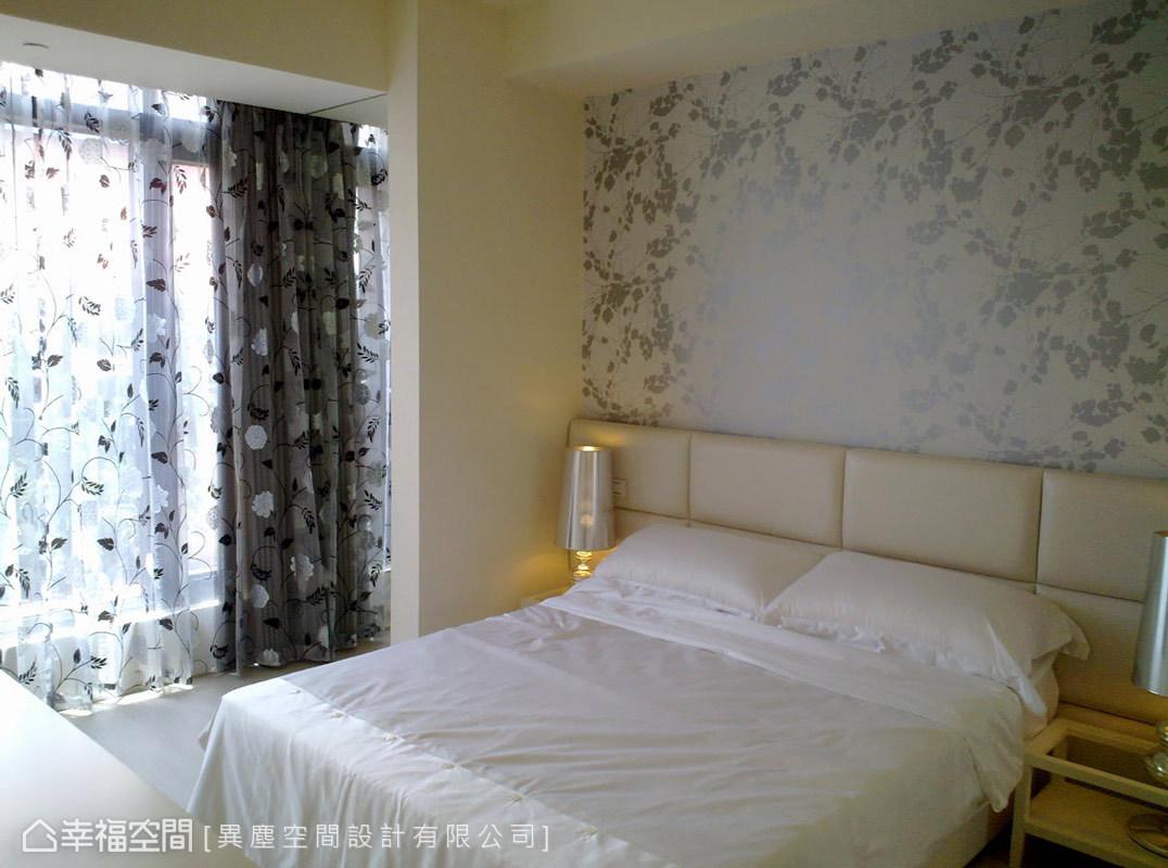 二居 简约 新古典 收纳 欧式 卧室图片来自幸福空间在60平新古典 城市中的桃花源的分享