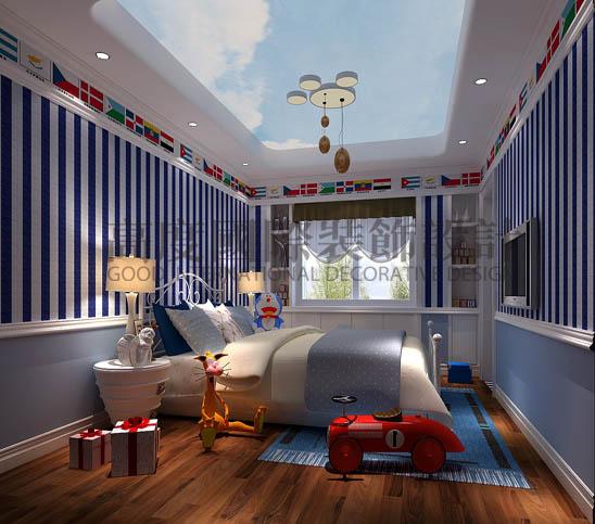 低调奢华 叠下户型 卧室图片来自微笑后的悲伤在金隅翡丽280平米低调奢华的分享