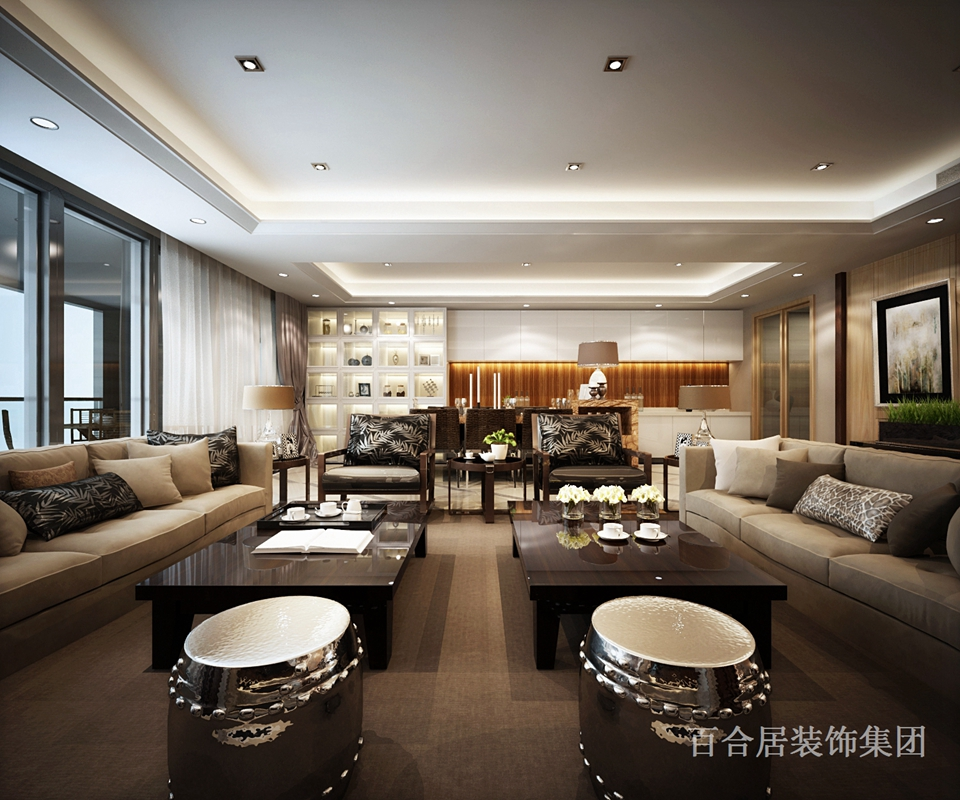 欧式 简约 三居 客厅图片来自装修早知道-在暖色咖啡-浓情巨献的分享