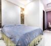 维持一贯简约利落的硬件线条,另透过壁纸、壁灯、寝饰与窗帘等软件,营造浪漫柔美气息。