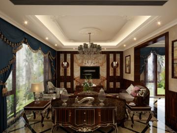 印象欧洲别墅装修美式风格设计