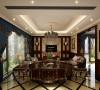 印象欧洲别墅户型装修美式风格设计方案展示,腾龙别墅设计师曹晖真实案例,欢迎品鉴!