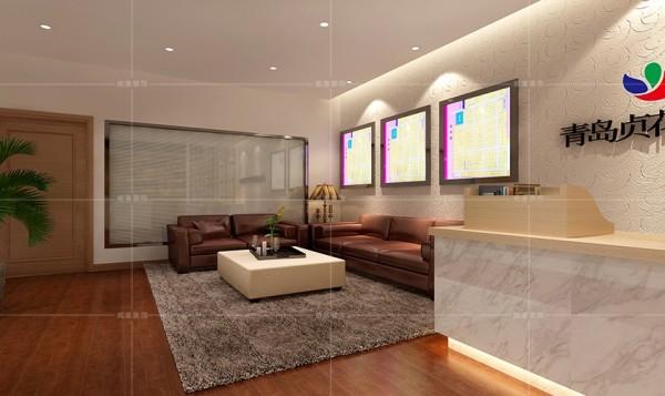 柔软的地毯为会客区增添一丝温馨