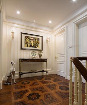 新古典 别墅 白领 80后 小资 收纳 楼梯图片来自一道伍禾装饰设计师杨洋在甜美优雅之新古典-格林云墅的分享
