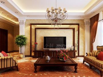 鼎正中央领域171四居室古典欧式