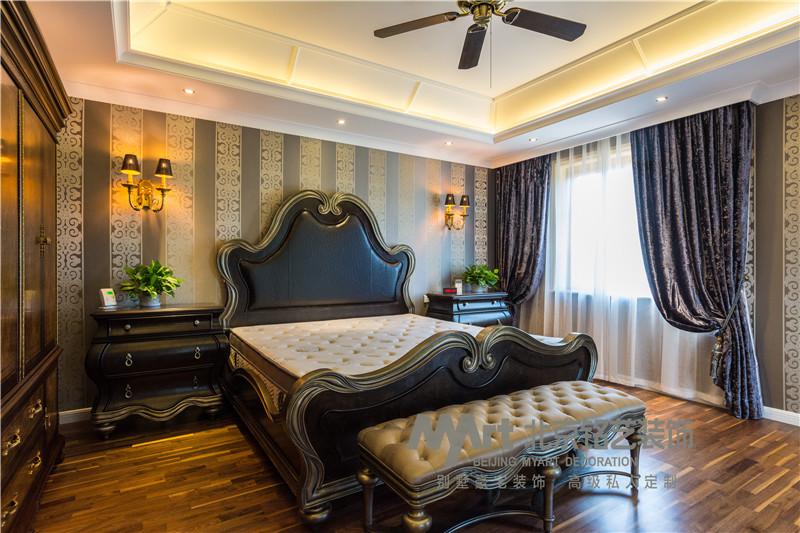 欧式 混搭 三居 白领 旧房改造 卧室图片来自Myart--多多在原河名墅的分享