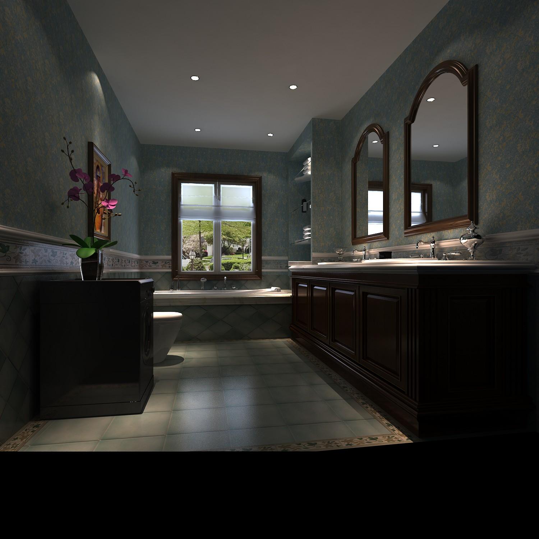 联排别墅 托斯卡纳 四室 卫生间图片来自微笑后的悲伤在潮白河孔雀城270平米托斯卡纳的分享