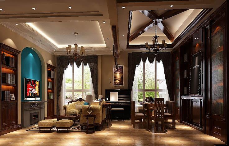 地中海 公寓 白领 收纳 80后 小资 客厅图片来自北京高度国际---小吴在180㎡托斯卡纳公寓的分享