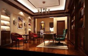 地中海 公寓 白领 收纳 80后 小资 书房图片来自北京高度国际---小吴在180㎡托斯卡纳公寓的分享