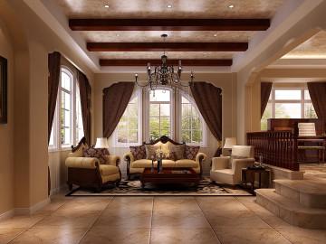 天竺新新家园400平米托斯卡纳式