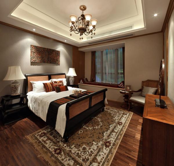 卧室一切都是那么的舒心与和谐