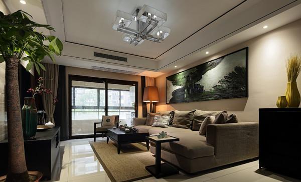 启锐园小区新房159平米中式装修精选