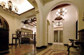 美式 别墅 白领 收纳 80后 小资 楼梯图片来自一道伍禾装饰设计师杨洋在优山美地之美式风格装修案例的分享