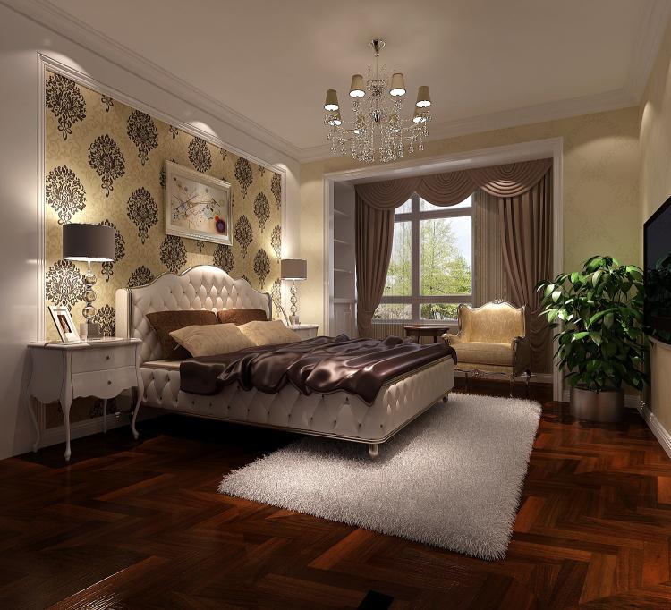 三居 欧式 简约 公寓 卧室图片来自高度国际装饰宋增会在长滩一号120平米简欧的分享