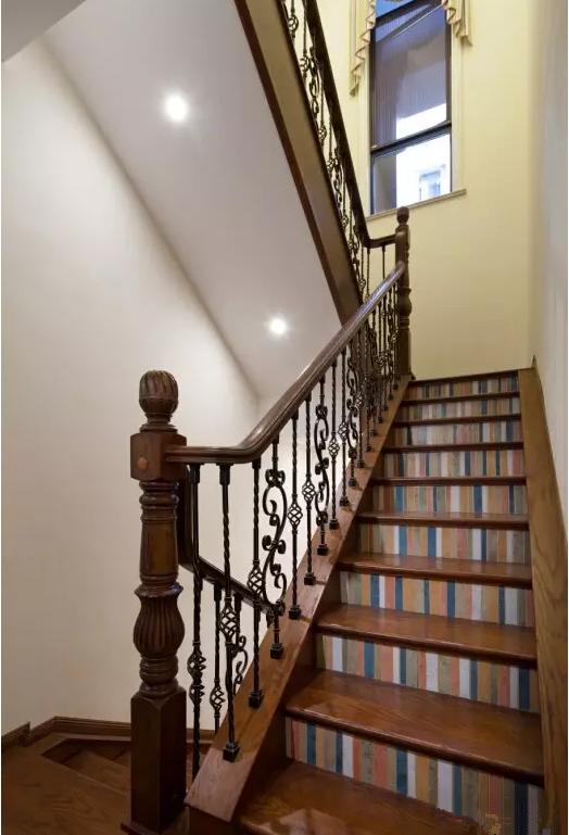 别墅 楼梯图片来自天津尚层装修韩政在摒弃繁缛豪华的分享