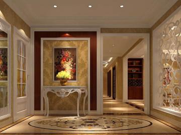 欧式风格高贵公寓