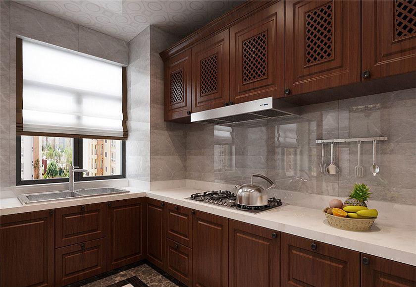 简约 三居 中式 白领 收纳 80后 小资 厨房图片来自实创装饰百灵在完美典雅 125平米新中式装修的分享