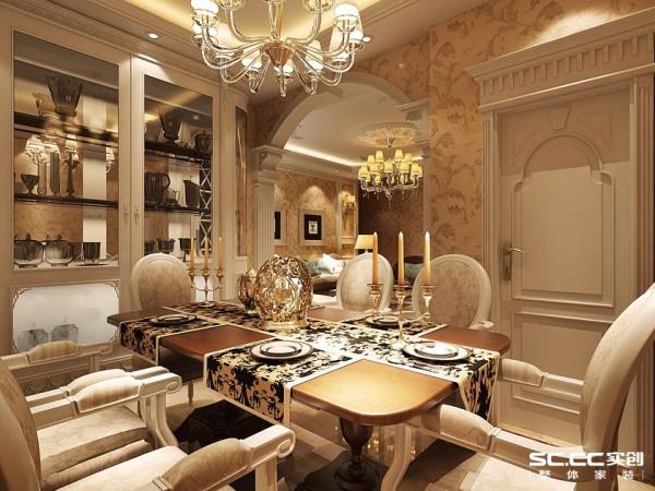 式风格很讲究造型门的造型设计,包括房间的门和各种柜门,既要突出凹凸感,又要有优美的弧线,两种造型相映感趣,风情万种