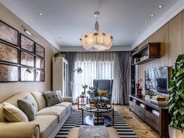 北欧风公寓大气风尚的装修设计