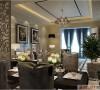 银基王朝现代奢华风格装修设计
