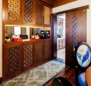 三居 别墅 白领 收纳 旧房改造 80后 中式 厨房图片来自上海实创-装修设计效果图在【实创装饰】精致独特的东方韵味的分享