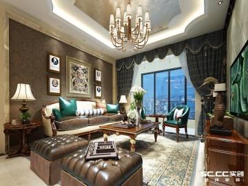 美兰湖富丽苑95平欧式二居豪华