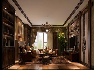 鲁能7号院高雅欧式古典复式楼
