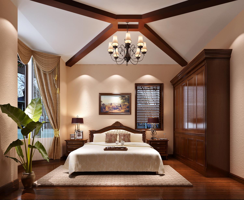 地中海 别墅 收纳 80后 小资 高富帅 卧室图片来自北京高度国际---小吴在琉森湖280平米托斯卡纳设计的分享