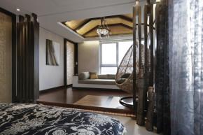 现代 港式 三居 四居 阳台图片来自加拿大乐邦装饰在160平4居现代爵士灰调的分享